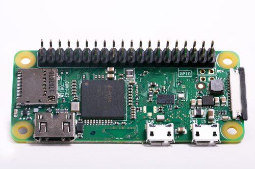 Raspberry Pi Zero نسخه WH