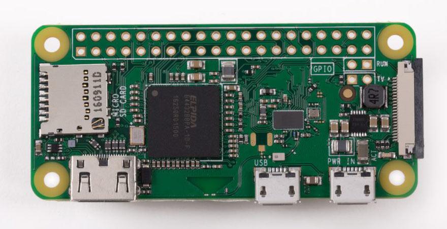 برد Raspberry Pi Zero W