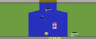 بازی هواپیما آتاری River Raid