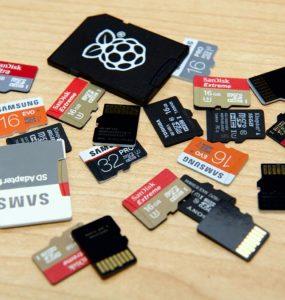 حافظه های میکرو اس دی رزبری پای microsd raspberry pi