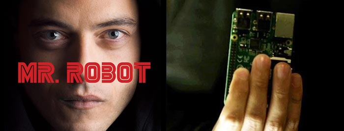 رزبری پای در سریال Mr Robot