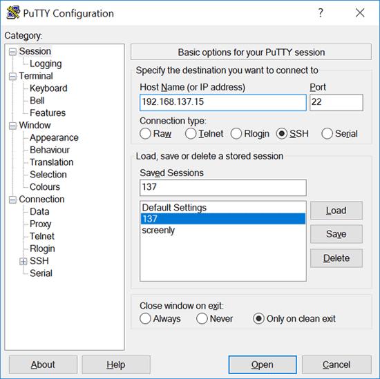 اتصال به رزبریپای از طریق SSH
