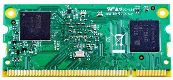 پشت رزبریپای +CM3 نسخه 32GB