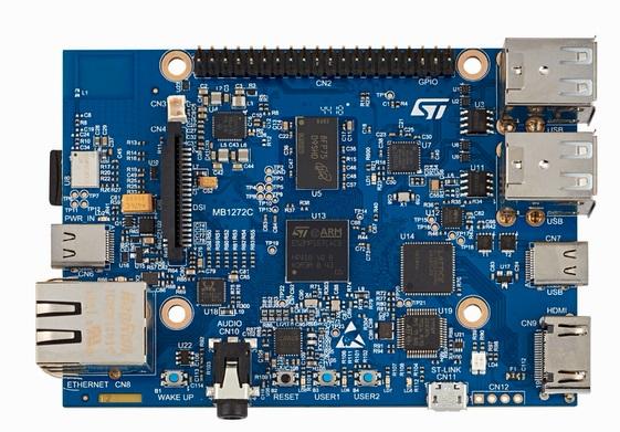 STM32MP157C-DK2