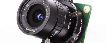 دوربین کیفیت بالا برای رزبریپای